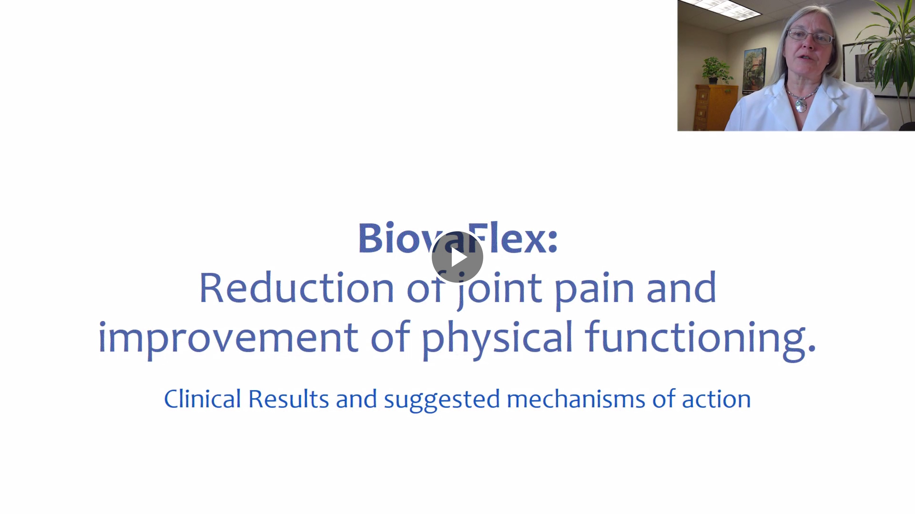 View a video summary of the BiovaFlex study: